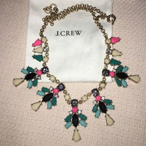 J. CREW Necklace multi color